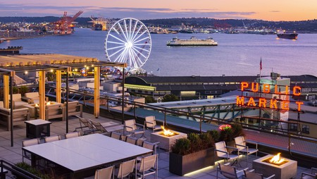 The Inn at the Market is the only hotelinSeattle's Pike Place Market