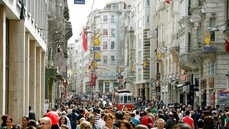 For some retail therapy in Istanbul, check out İstiklal Caddesi
