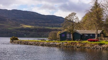 Loch Ness is the perfect setting for traditional Scottish fare as fresh as you can get