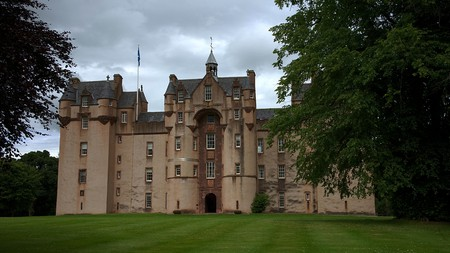 Europe has many spooky castles that are said to be haunted, including Fyvie in Aberdeenshire