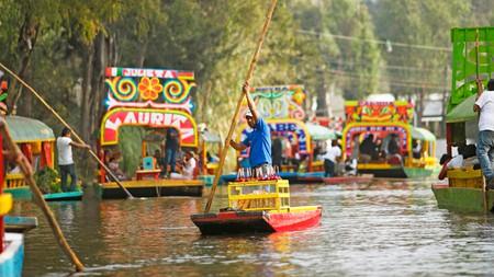 Floating market in Xochimilco