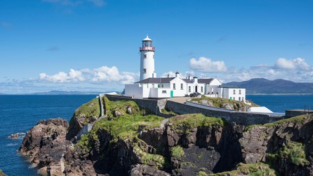 The Fanad Lighthouse offers breathtakingly beautiful views