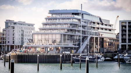 Southampton Harbour Hotel features a quirky cruise ship design