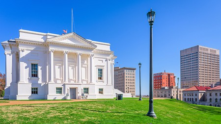 The Virginia State Capitol building is one of Richmond's top historic sites