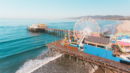 Santa Monica offers a heady mix of city and beach life