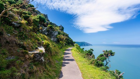 The South West Coast Path in Devon is fantastic for hiking at any time of the year and the views are phenomenal