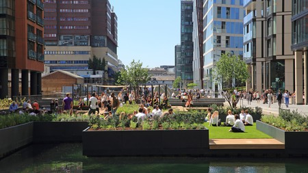 Paddington's serene waterways offer a welcome respite from the hustle and bustle of the city