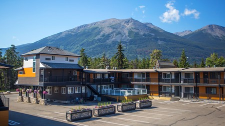 Wake up to breathtaking views at the Mount Robson Inn in Jasper