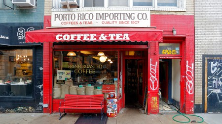 The family-owned Porto Rico Importing Co is one of the top coffee shops in the East Village