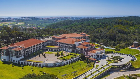 The Penha Longa Resort lies in the mountains surrounding Sintra, Portugal