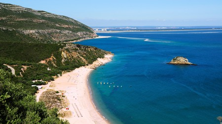 Portugal's beaches feature an array of sandy shores, rocky cliffs and spectacular views