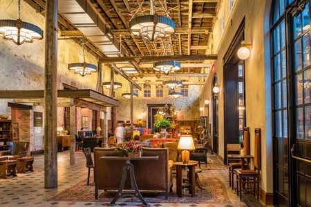 Hotel Emma was once a brewery and is now a luxurious hotel in San Antonio, Texas, USA