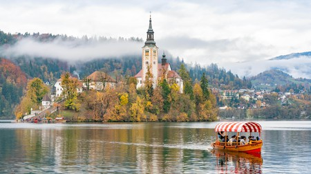 Lake Bled, in Slovenia, has become a popular minimoon destination