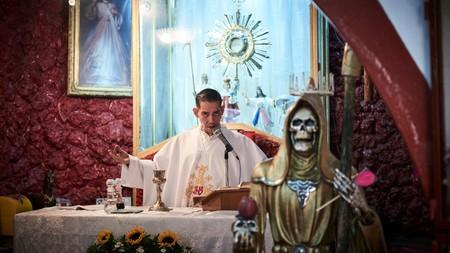 Only in Mexico City can you visit the church of Saint Death, or Santuario Nacional del Angel de la Santa Muerte