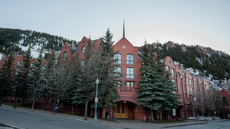 Aspen is all about high-end hotels, including the St Regis