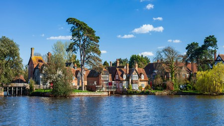 The New Forest is dotted with charming bed and breakfasts