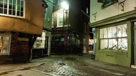 York, Shambles on a wet night