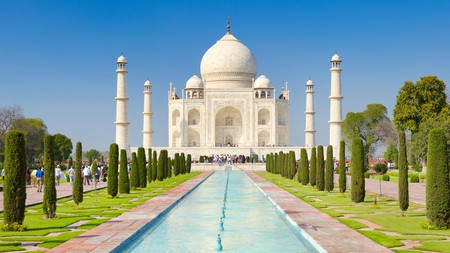 The Taj Mahal in Agra is a world-famous wonder