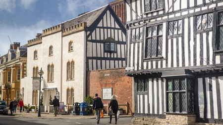Immerse yourself in Shakespeare's England by staying in a 400-year-old Grade-II listed building.