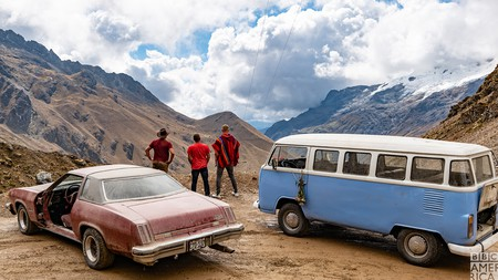In the last series, the 'Top Gear' team risked life and limb in Peru