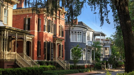 Enjoy the historic architecture on a stroll down Savannah's tree-lined streets