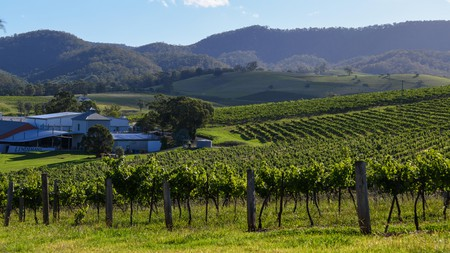 Pokolbin, in Hunter Valley, is home to many of the region's best wineries – and gastro dining options