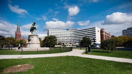 The Washington Plaza is within walking distance of many popular DC attractions