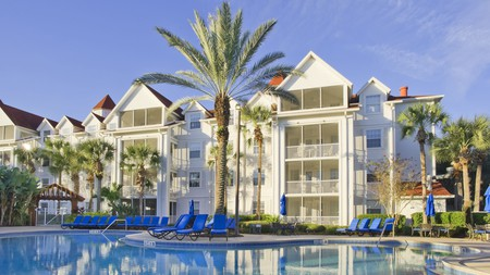 Map out your trip to Walt Disney World from your balcony at Grand Beach
