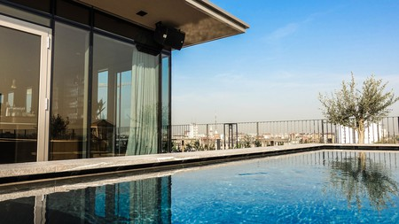 The Viu Milan is one of many boutique hotels in the city that come with a rooftop pool