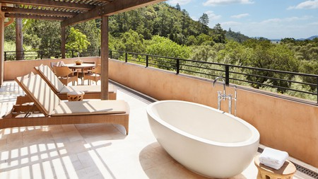 Napa Valley is a great place to unwind at one of its heavenly luxury spa hotels