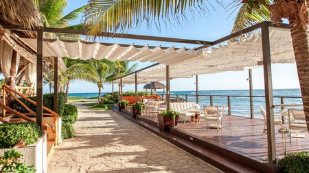 There are five restaurants at Cap Cana, including the oceanfront Blue Marlin