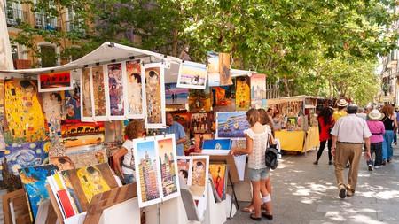 El Rastro market, Madrid, Spain