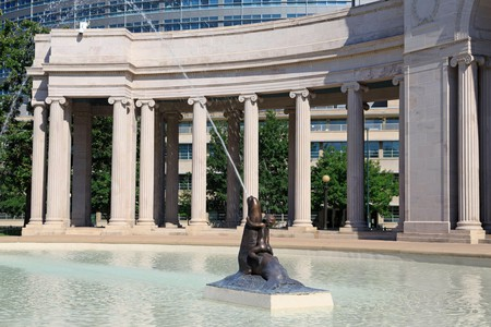 Find a pool to cool off in after a hot day's work exploring Denver's Civic Center Cultural Complex