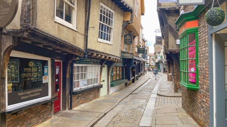 Discover plenty of historic charm on a walk down the Shambles in York