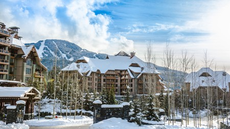 The resort town of Whistler is home to some of British Columbia's best hotels