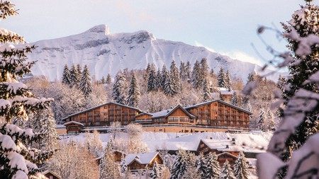 An astonishing view is never far away in star-studded Megève, one of the most prestigious ski resorts in Europe