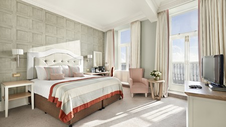 Enjoy a sea view with your champagne at one of Brighton's luxury hotels