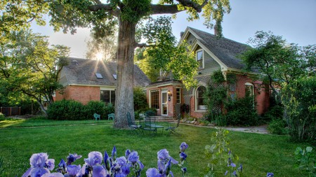 Briar Rose Bed and Breakfast is an eco-friendly B&B with a tranquil garden