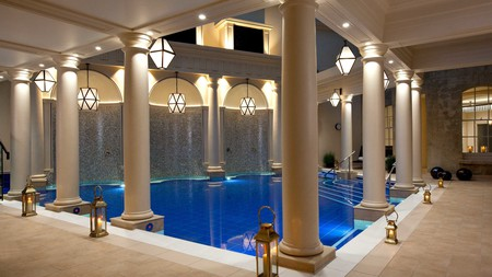 The Gainsborough, in Bath, is the only hotel in England that has thermal pools