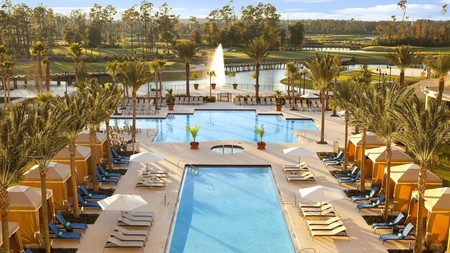 The Waldorf Astoria Orlando is an excellent place to stay if you're looking for a luxury spa getaway