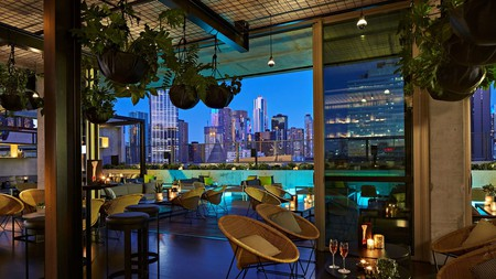 Enjoy some urban luxury at the QT Melbourne, home to one of the city's best rooftop bars