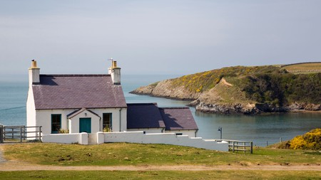 Enjoy a romantic getaway on the North Wales coast