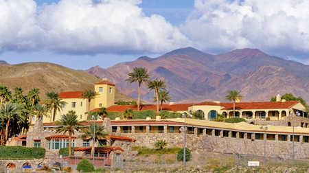 Furnace Creek Inn at Death Valley National Park in California