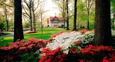 The gorgeous grounds of Callanwolde Fine Arts Center