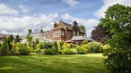 Auchrannie Resort on the Isle of Arran is a luxurious yet affordable place to stay in Scotland