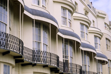 An example of Brighton's Regency era charm