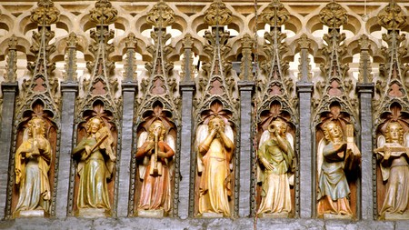 Exeter Cathedral – and its ornate minstrel's gallery – is just one of the city's many draws