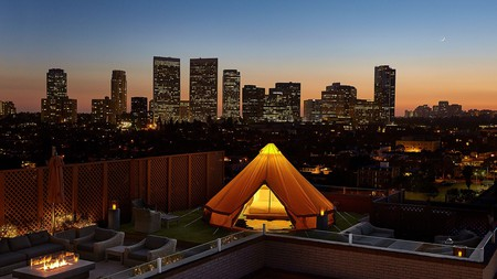 The Beverly Wilshire offers a glamping experience like no other