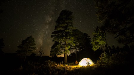 Camping in Maine provides the perfect opportunity to stargaze
