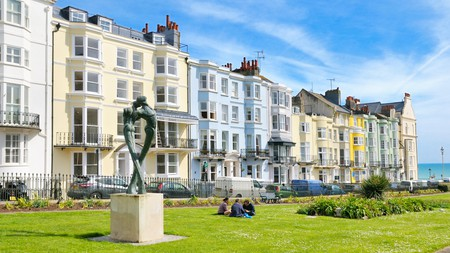 The Kemptown area has an impressive range of restaurants and drinking dens as well as green spaces